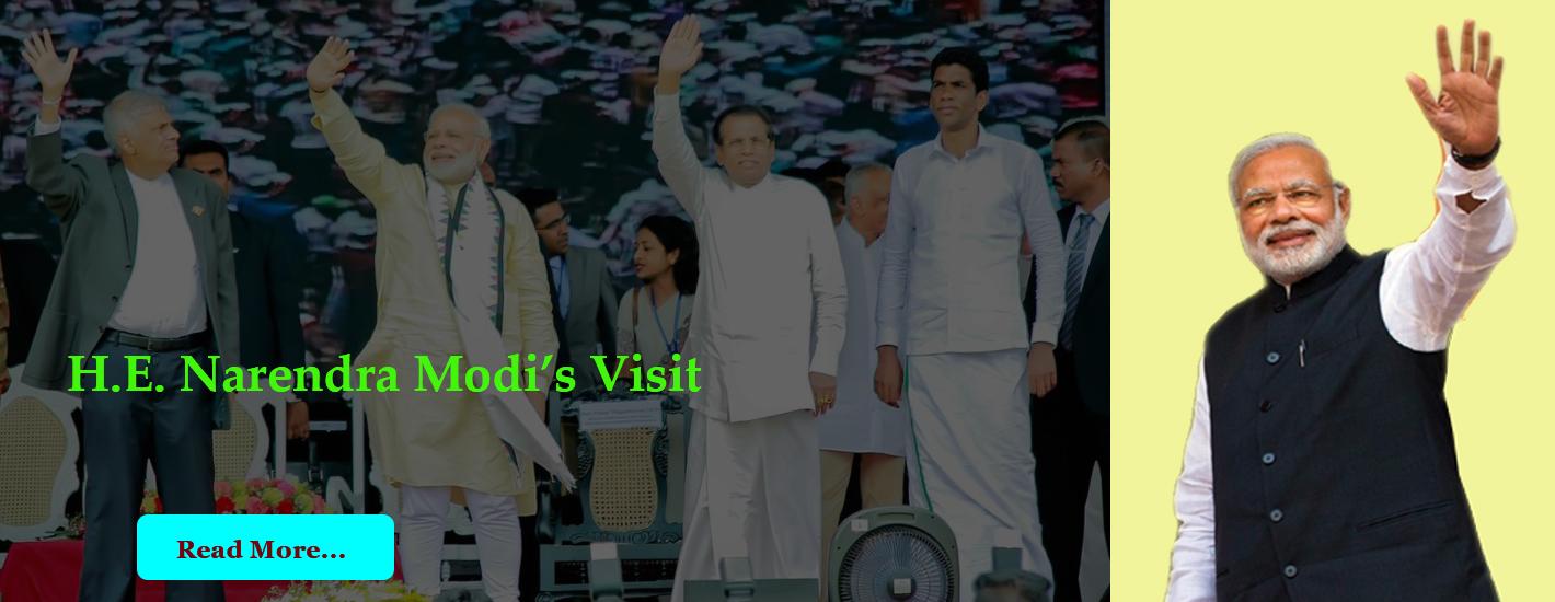 H.E. Modi's Visit